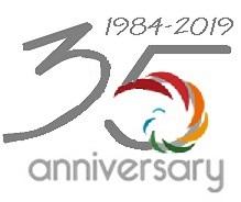logo 35 anni colorificio e servizi per l'edilizia RSC Raffaello