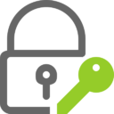 icona lucchetto con chiave