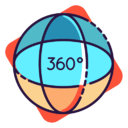 icona 360 gradi