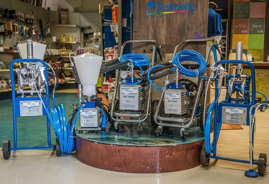 Macchine per verniciatura realizzate da RSC Raffaello