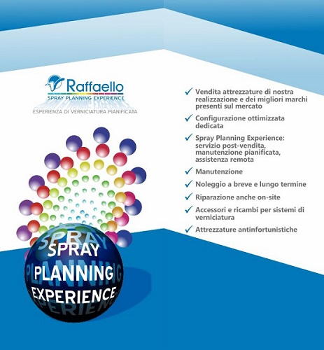 spray planning experience RSC Raffaello